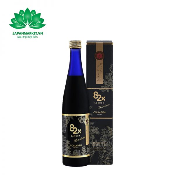 Nước Uống Collagen 82x Sakura Premium New 120.000mg 500ml