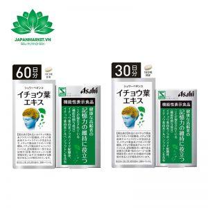 Viên uống hoạt huyết dưỡng não Asahi Nhật Bản