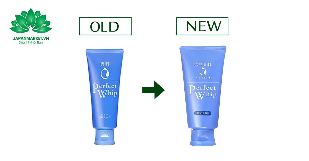 sữa rửa mặt perfect whip xanh mẫu mới nhất