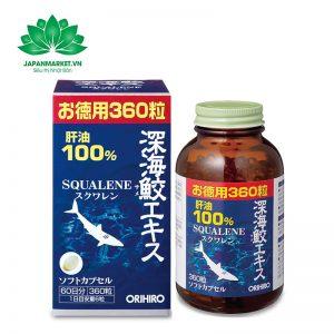 Sụn Vi Cá Mập Squalene Orihiro Nhật Bản 360 viên