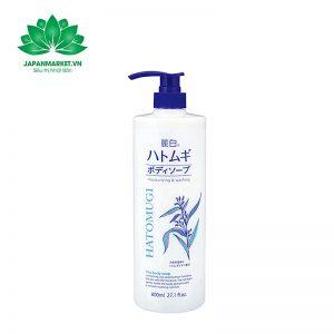 sữa tắm dưỡng da hatomugi moisturizing washing 800ml