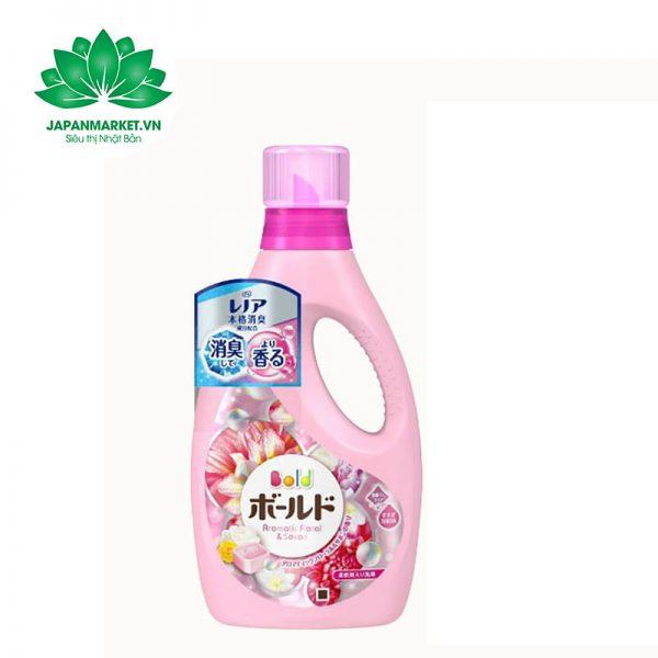 Nước giặt Bold 850g P&G màu hồng 4902430911955