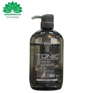 Dầu gội xả dành cho nam Tonic Pharmaact 600ml