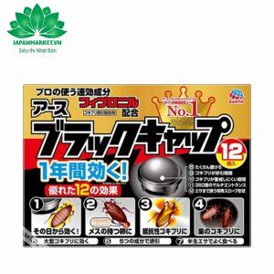 Viên diệt gián Earth Nhật Bản (Hộp 12 viên)