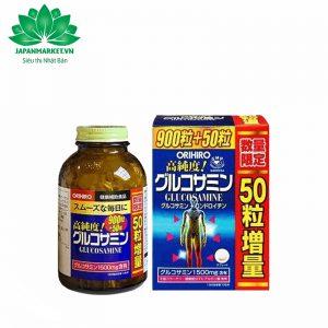 Glucosamine 1500mg Orihiro Nhật Bản 950 viên