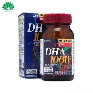 Viên Uống Bổ Não DHA 1000s Nhật Bản