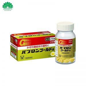 Thuốc Cảm Cúm Taisho Pabron Gold A Nhật Bản 210 Viên